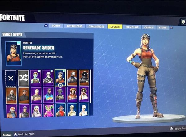 Fortnite rare skins. (4) accounts remaining for Sale in ...