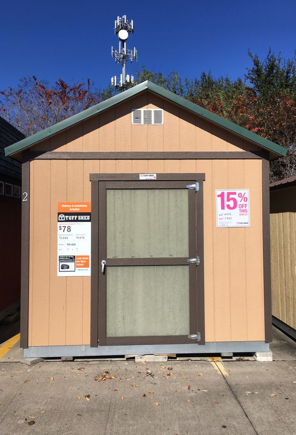 Tuff Shed At Baytown Home Depot For Sale In Seabrook Tx
