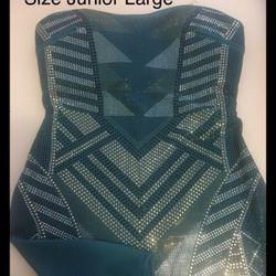 Sequin stretch dress size junior large Thumbnail