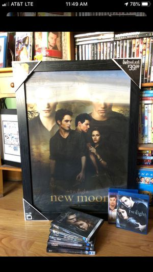 Photo New Twilight Poster/DVD/Blu-Ray Package Deal!!(Movie Collector)