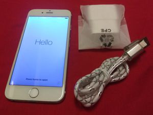 IPhone 6 ICLOUD LOCKED for Sale in Hyattsville, MD