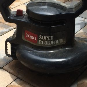 Toro blower/vac for Sale in Springfield, VA