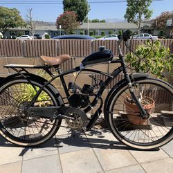 80cc Motorized Bike / Beach Cruiser Ready To Ride  Thumbnail