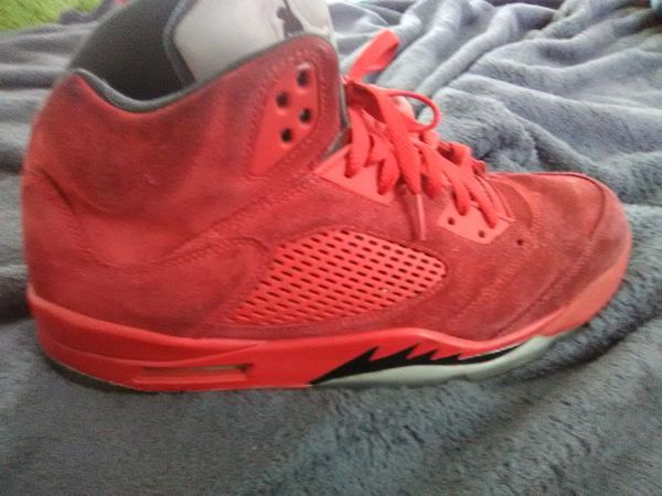 4cfeac86c9a1 Jordan 5 Red Suede size 13 men. for Sale in Fayetteville