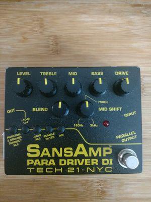 Tech 21 Sans Amp Para Driver DI for Sale in Orlando, FL