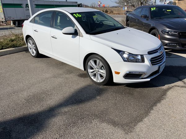 2016 Chevy Cruze Limited Ltz 500 Dn Can Have U Behind The Wheel