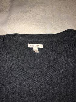 Women's grey sweater Thumbnail
