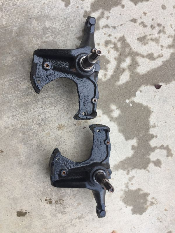 C10 disk disc brake spindles parts truck gmc Chevy Chevrolet for Sale in  Riverside, CA - OfferUp