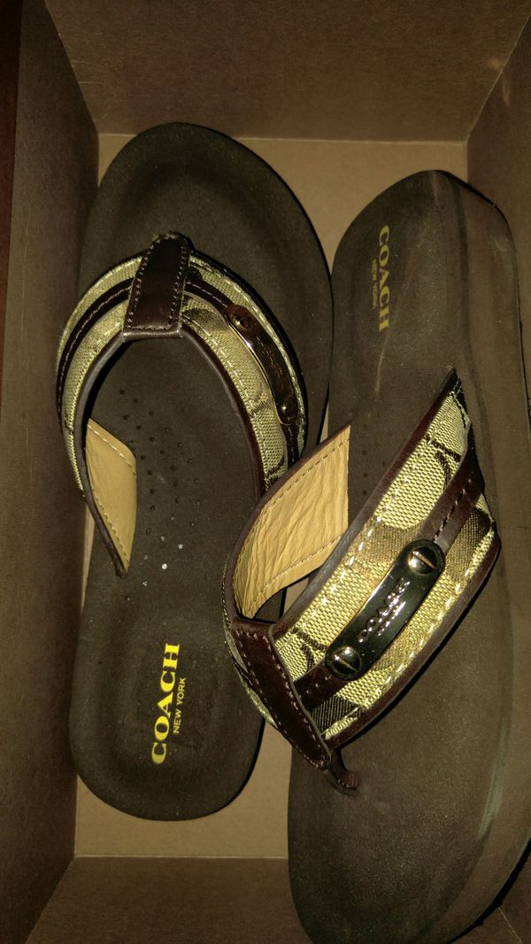 7dab145c67a3e Coach Flip Flop Sandals 6M for Sale in New Orleans