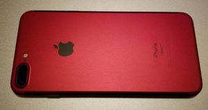 Product RED iPhone 7 Plus 128gb unlocked for Sale in Lorton, VA