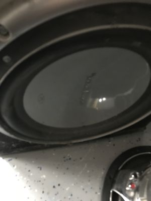 """1 12""""Rockford fosgate and box!!!!! for Sale in West Valley City, UT"""