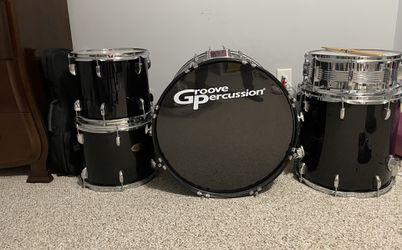 Groove Percussion Drum Set Thumbnail