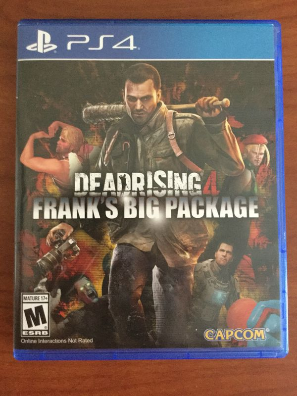 PS4 Dead Rising 4 Franks Big Package for Sale in Statesboro, GA - OfferUp