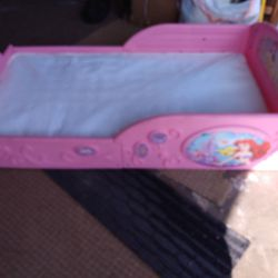 Toddler Bed Including Mattress In Very Good Condition Thumbnail