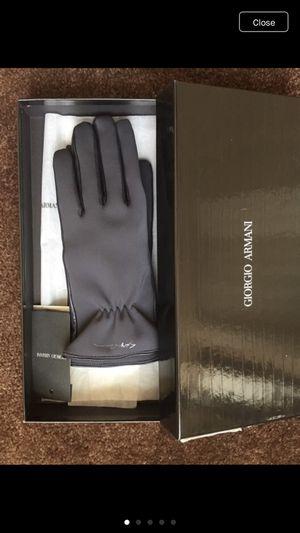 Giorgio Armani Gloves w/ Original Box Sz. L Fits S for Sale in Seattle, WA