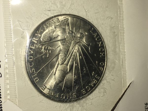 space shuttle discovery 5 dollar commemorative coin - photo #15
