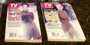 The Women Of Star Trek TV Guides - set of 2 for Sale in Laveen Village, AZ