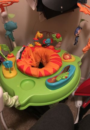 Fisher price Baby bouncer jumperoo for Sale in Silver Spring, MD