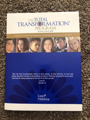 The Total Transformation Program (for managing challenging behavior in children) for Sale in Raleigh, NC