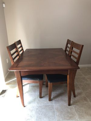 Rectangle Solid Wood Very Heavy Dining Table For Sale In Harrisburg PA