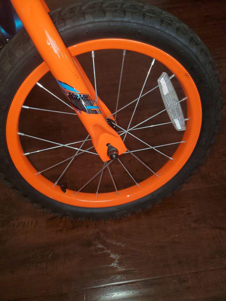 "Dynacraft 16"" Hot Wheels Boy's Bike, Blue"