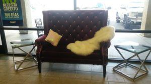 Purple love seat for Sale in Las Vegas, NV