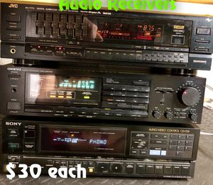 Audio receivers/amplifiers for Sale in Silver Spring, MD