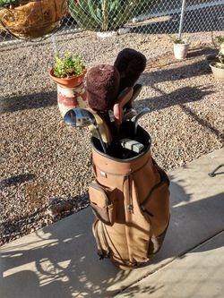Golf Bag and set of Clubs Thumbnail