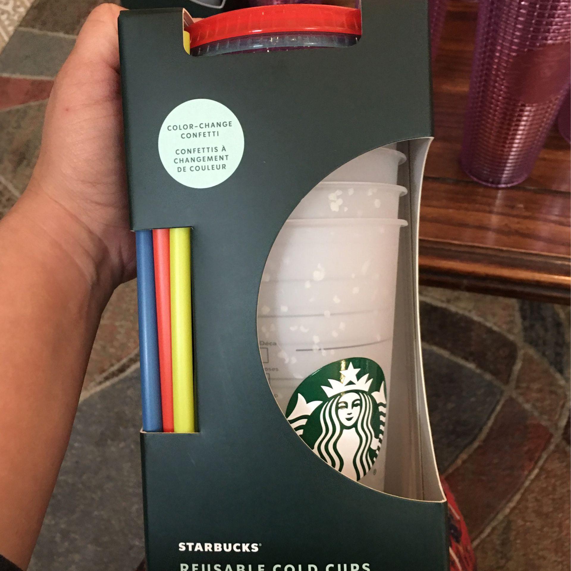 Starbucks Reusable Cold Cups