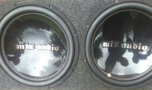 Mtx audio 15s for Sale in St. Louis, MO