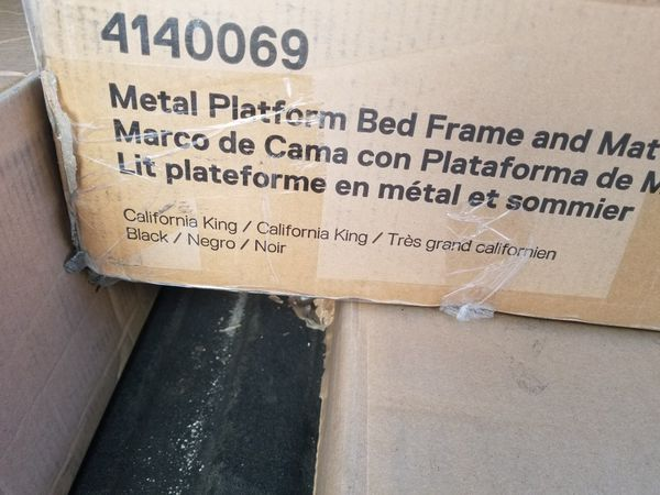 New Cali King Size Bed Frame For Sale In Phoenix Az Offerup