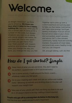 Weight Watchers planning guide book Thumbnail