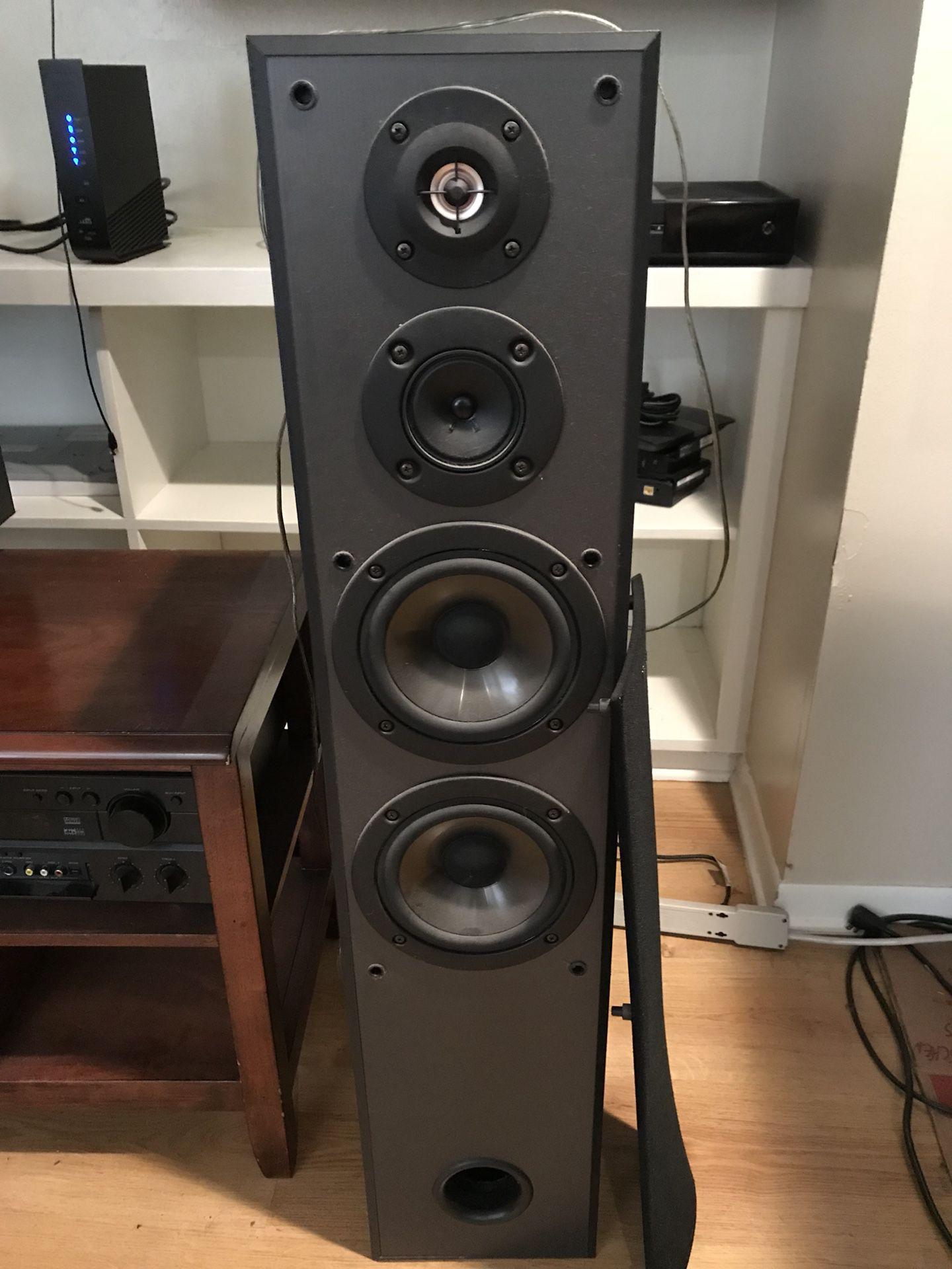 Home audio speaker system