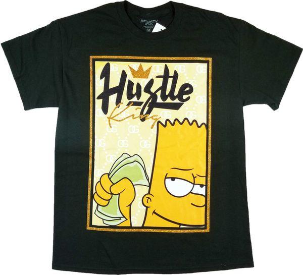 7695d72bd39252 3forty inc mens hustle king shirt