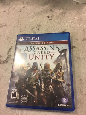 PS4 Assasin's Creed Unity Game for Sale in Chicago, IL