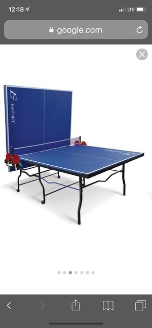 Brand New Eastpoint Ping Pong Table Table Tennis For Sale In Bakersfield Ca Offerup