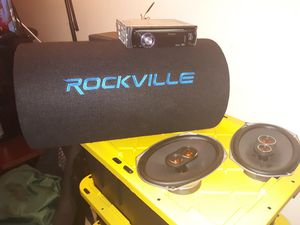 CAR AUDIO SYSTEM for Sale in Aspen Hill, MD