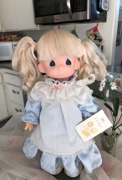 Precious moments vintage Barbie not included but if you're interested she's 250 getting back to the precious moment all in perfect condition very cle Thumbnail