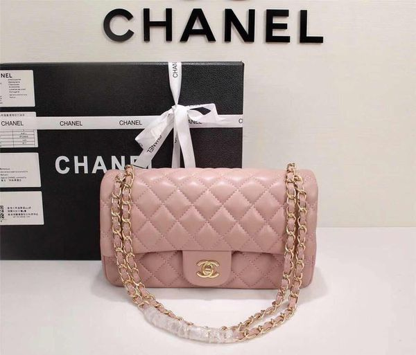 b7813659a8869a CHANEL Lambskin Quilted Medium Double Flap Light Pink (Jewelry &  Accessories) in San Leandro, CA - OfferUp