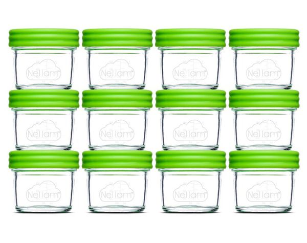 2 sets of Nellam Baby Food Storage Containers Leakproof Airtight