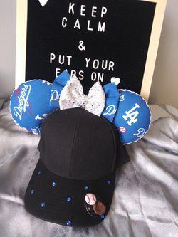 Dodger hat mickey ears Thumbnail