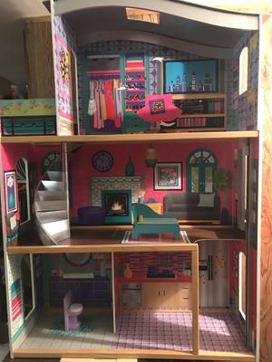 Kid Kraft City Lights Doll House 32.28″ W x 12.38″ D x 46″ H for Sale in Falls Church, VA