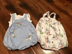 Gymboree Peter Rabbit Collection rompers LIKE NEW | 3-6 months for Sale in Tacoma, WA