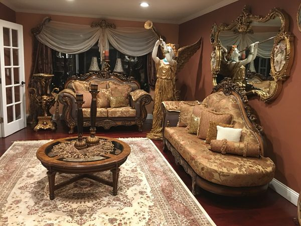 Very beautiful gorgeous antique living Room sets with 14 Items ...