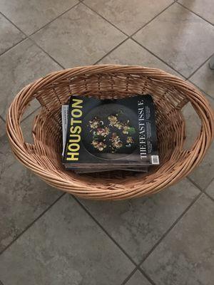 Large Magazine Basket for Sale in Alexandria, VA