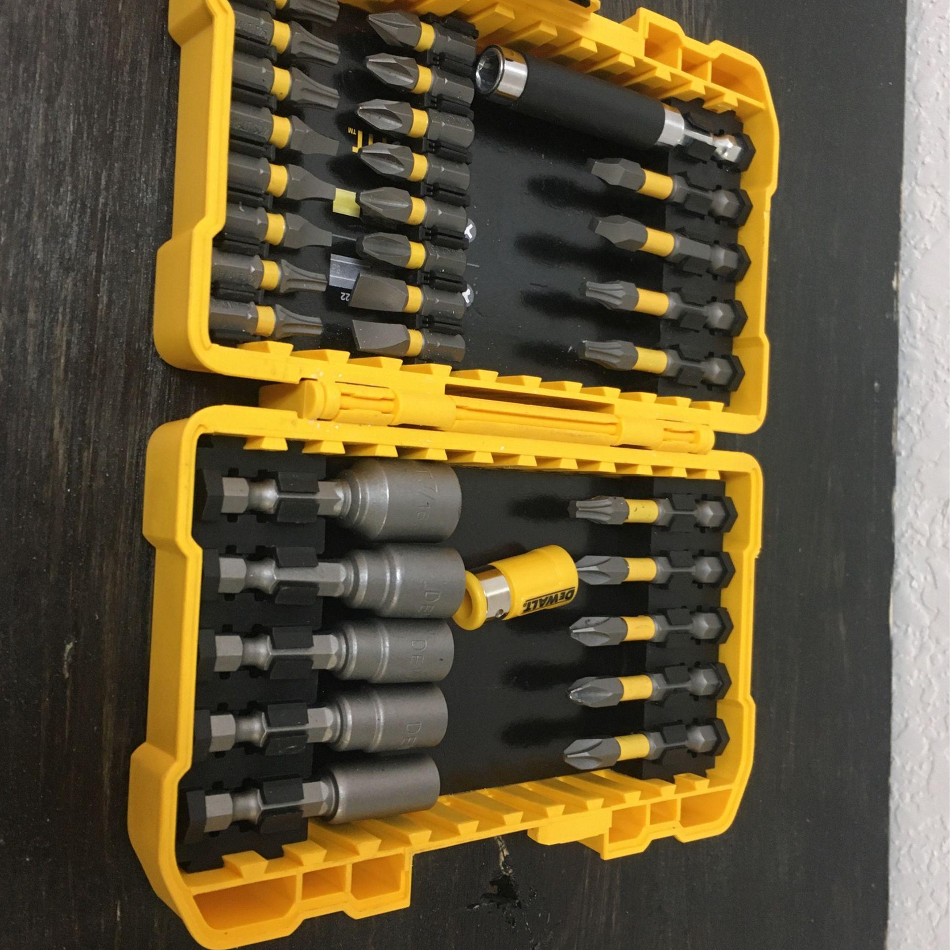 DEWALT Drill Bits Set Brand New Max fit DW2022 Industrial Tools Set BCP008848