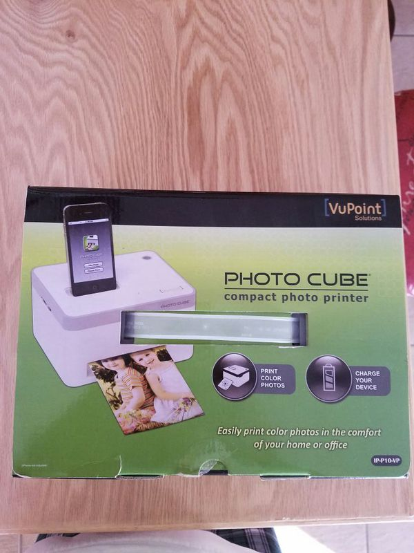 Vupoint Photo Cube Compact Photo Printer For Sale In Surprise Az