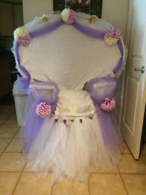 Baby shower or wedding shower chairs! for Sale in Silver Spring, MD