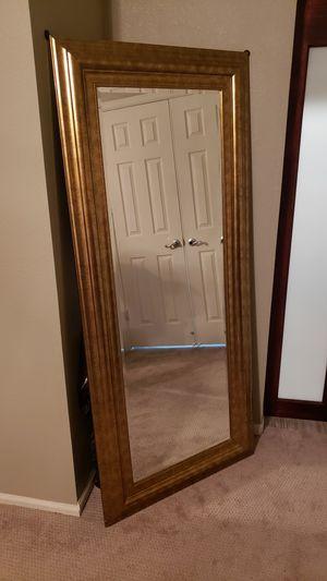 Photo Mirror - Gold framed, full length