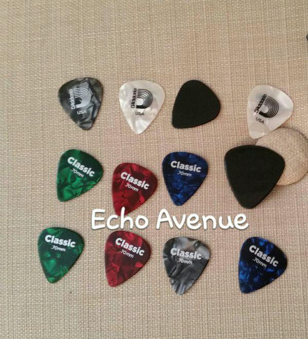12 assorted guitar picks for sale in el paso tx offerup. Black Bedroom Furniture Sets. Home Design Ideas